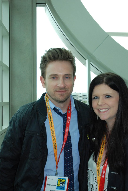 Curicon's Aimee meets Buffy's Tom Lenk!