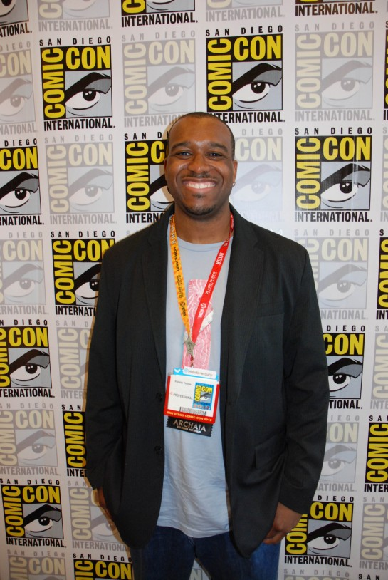 Voltron Writer Brandon Thomas