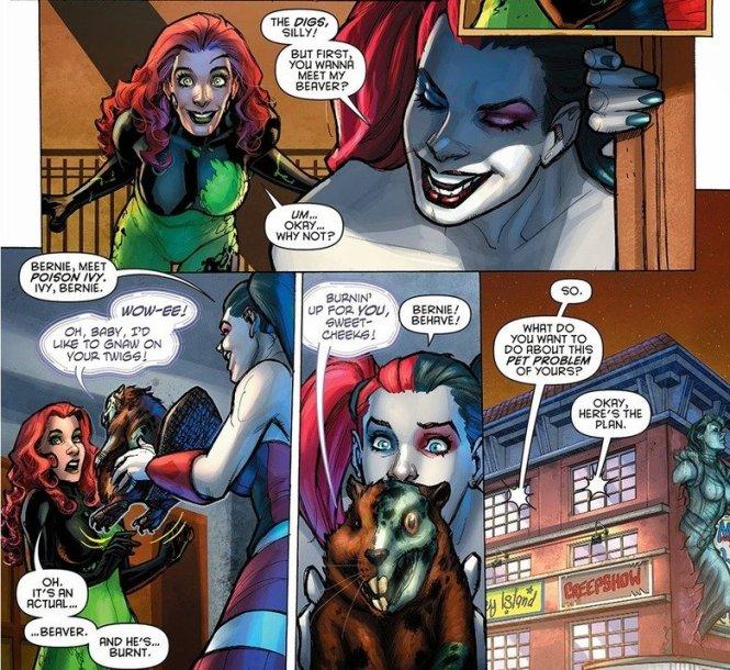 Harley Quinn Poison Ivy datant
